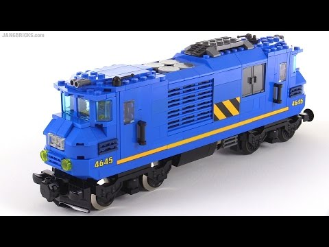 LEGO dual-cab diesel-electric locomotive MOC