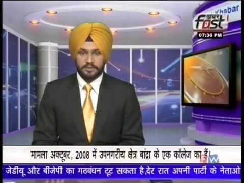 Punjabi News Anchor Raman Sodhi