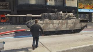 Grand Theft Auto 5 Multiplayer - Part 52 - RHINO TANK!! (GTA Online Let's Play)