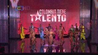 Colombia Tiene Talento 2013: Fiebre latina - Baile