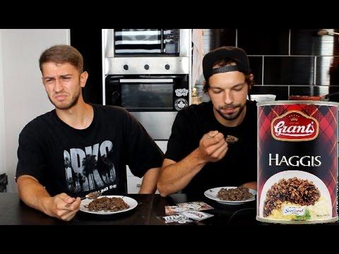 Idioten essen Haggis | Food Challenge