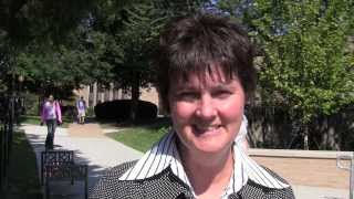 Anne Holton visits the NOVA - Annandale campus