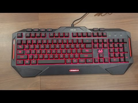 Asus Cerberus Gaming Keyboad & Mouse Unboxing and Review (best gaming keyboard and mouse)