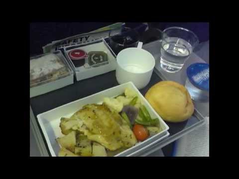 Singapore Airlines - 777-200ER - Economy Class Catering