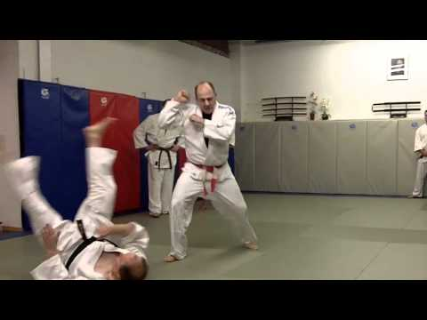 Gary Goltz Discusses the Arm Position for Harai Goshi Image 1