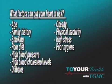 TGMC To Your Health~ February is Hearth Month with Dr. Grieg Walker Part 1 (2/6/13)