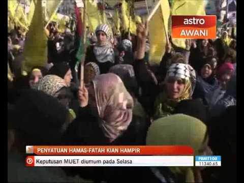 Penyatuan Hamas-Fatah kian hampir