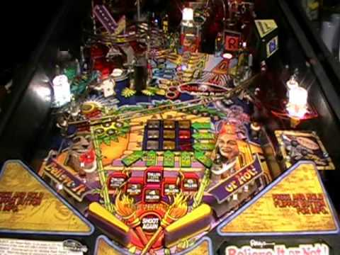 Ripleys Believe It Or Not Pinball Machine Video