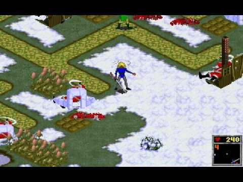 The Horde (PC/DOS/'94) Last area gameplay
