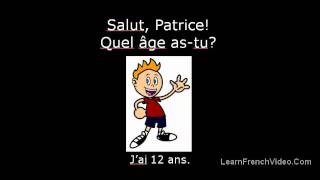 How Old Are You In French