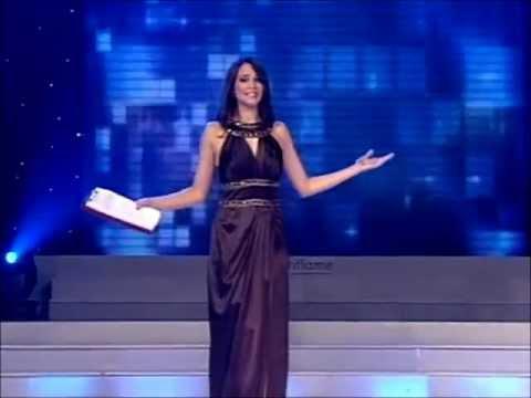 Slađana Pejić - Dobro veče @ Miss BiH 2010