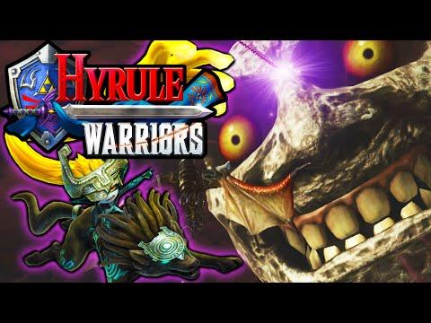 Hyrule Warriors: 2 Player Co-Op! Legend of Zelda Story PART 11 Dragon Boss HD Gameplay Walkthough