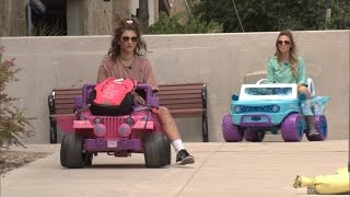 Student Defends Driving Barbie Jeep After DWI, Now Roommates are Joining Trend