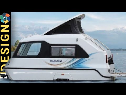 10 CAMPERBOATS FROM THE EARLY DAYS UNTIL NOW