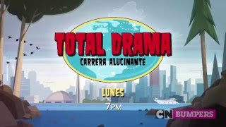 "Cartoon Network LA: ""Total Drama: Carrera Alucinante"" [Promo - Estreno]"