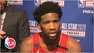 Joel Embiid doesn't think ASG should be won on a free throw | 2020 NBA All-Star Weekend