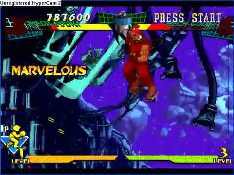 Marvel vs Street Fighter - Mech Gouki vs Mech Gouki