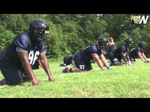 2015 Wingate Football - First Practice Sights and Sounds