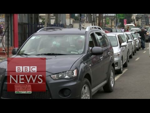 Why Nigerians are queuing for fuel - BBC News