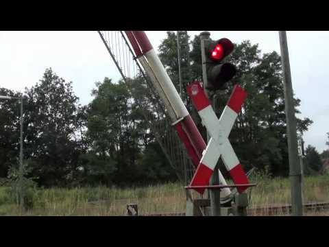 Bahnübergänge an der KBS116 Munster Railcrossings in Munster Germany
