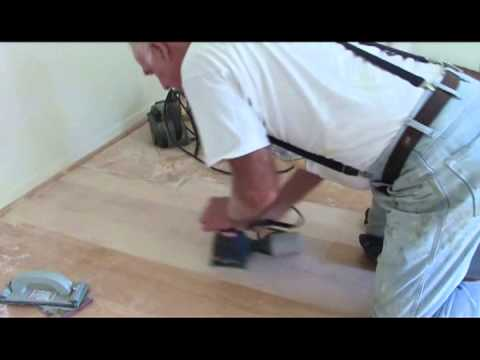 DIY fixing scratches in hardwood flooring