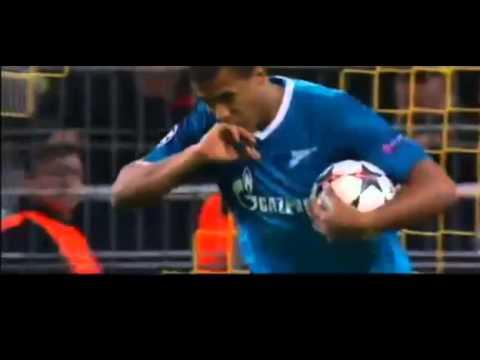 Solomon Rondon Goal   Borussia Dortmund vs Zenit 1 2 CL HD 19  03  2014