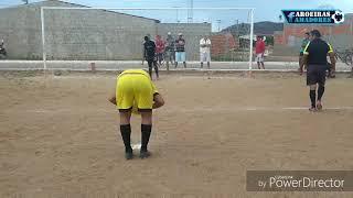 Pênaltis, Cruzeiro do Silva 1(4)X(5)1 Internacional B de Aroeiras - 23/12/2017