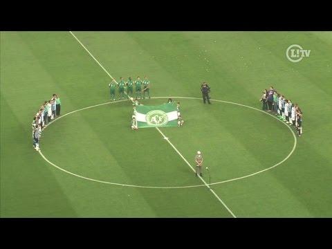 Bela homenagem à Chape na final da Copa do Brasil emociona o público na Arena