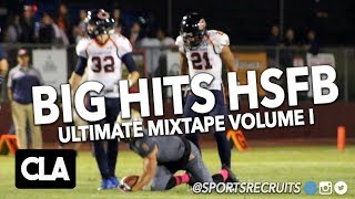 BIG HITS HS FOOTBALL 💥 VOL I: @SportsRecruits Official Highlight Mix (All Original Content)