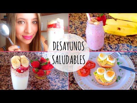 Ideas fáciles y saludables para tu desayuno ♡ ɴᴀɴᴄʏ - YouTube