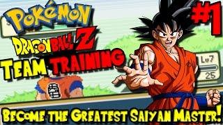 BECOME THE GREATEST SAIYAN MASTER! | Pokemon: Dragon Ball Z Team Training - Episode 1