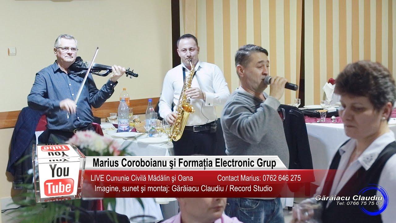 Marius Coroboianu si Electronic Grup   Colaj SARBA LIVE   Madalin si Oana   Muzica de Petrecere