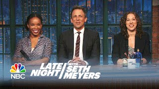Jokes Seth Can't Tell: Youngest African-American Pilot, Lesbian Break-Ups