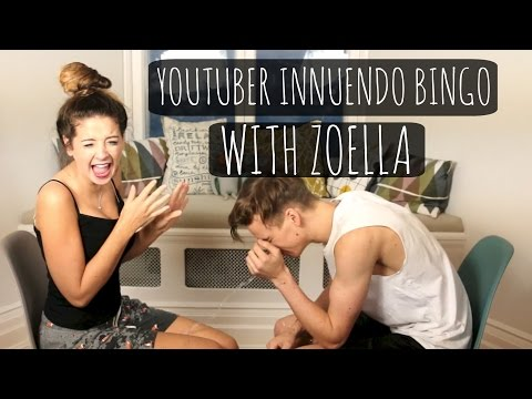 Youtuber Innuendo Bingo With Zoella!