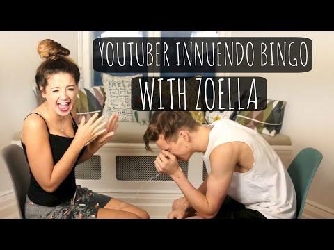 Youtuber Innuendo Bingo With Zoella! video