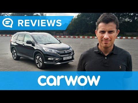 Honda CR-V SUV 2018 in-depth review   Mat Watson reviews