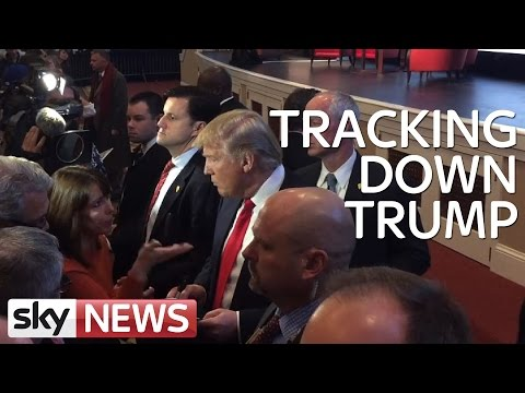 When Kay Burley Tracked Down Donald Trump