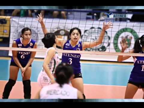 UAAP S73 Women's Volleyball Final 4 - DLSU def. ATENEO, 2-3