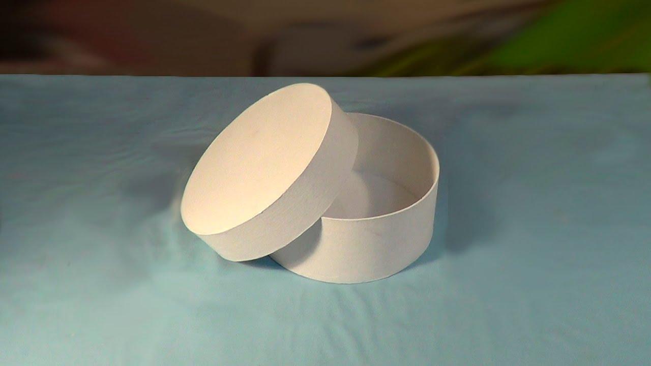 Как сделать круглую коробочку любого размера Ярмарка Мастеров 28
