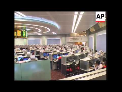 Markets in Japan and HK show downward trend