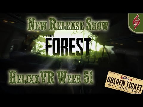 New Release show Week 51 Wanted Killer VR and The Forest.