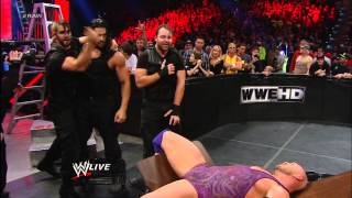 Ryback vs. CM Punk - Tables, Ladders, and Chairs WWE Title Match: Raw, Jan. 7, 2013