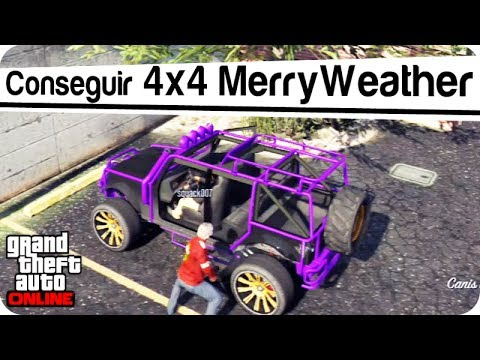 GTA V Online : Conseguir 4x4 Merryweather (Jeep) - Canis Mesa 1.09