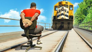 Gta 5 funny moments+Stunts