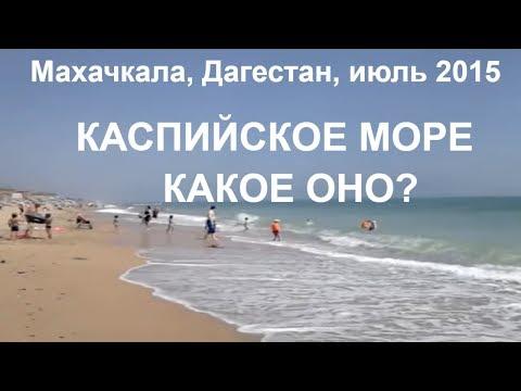 Каспийское море сегодня 26.07.2015 в Махачкале