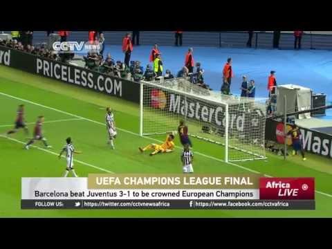 UEFA Champions League Final Barcelona 3 Juventus 1
