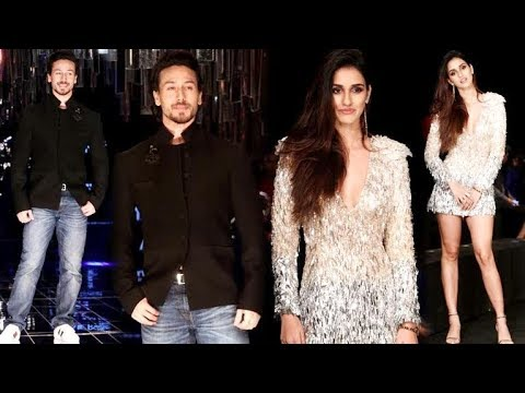 Tiger Shroff with Girlfriend Disha Patani At Lakme Fashion Week Grand Finale 2017!