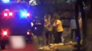 Molotof Atan Gösterici Yakalanınca Polise Yalvardı