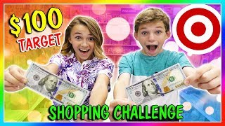 Download Lagu $100 SHOPPING CHALLENGE AT TARGET | What do the kids get? | We Are The Davises Gratis STAFABAND
