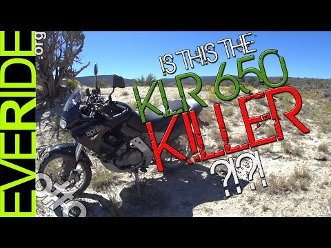 o#o The KLR 650 Killer? Aprilia Pegaso 650 Review